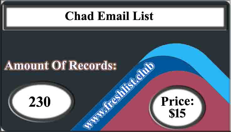 Chad Email List
