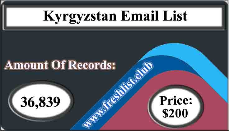 Kyrgyzstan Email List
