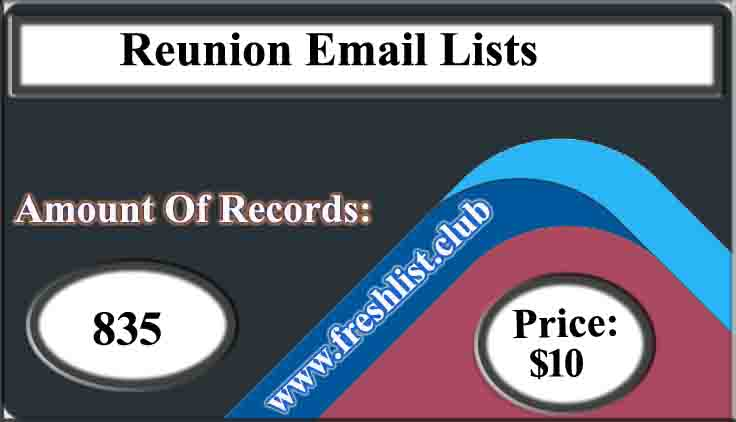 Reunion Email Lists