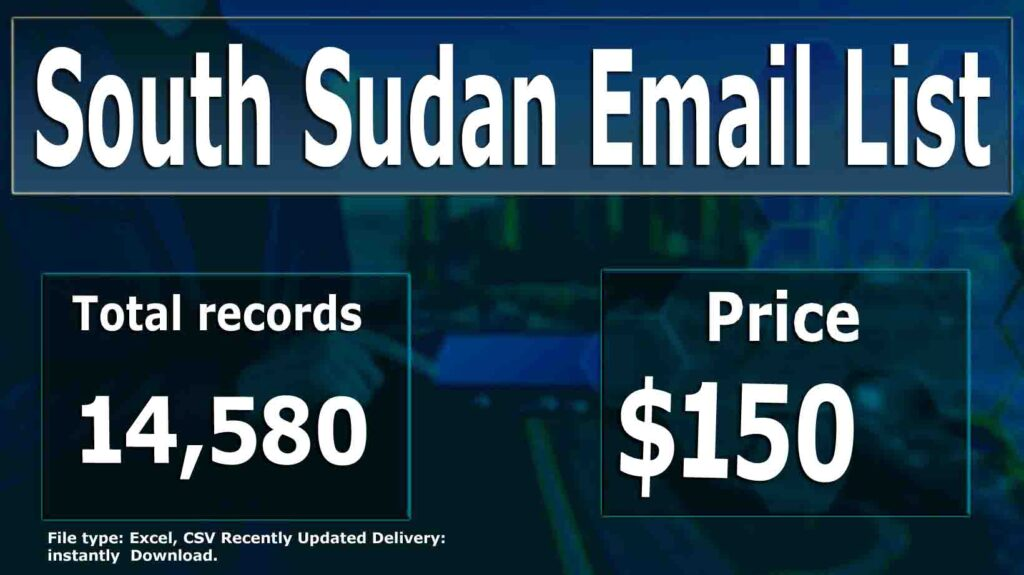 South Sudan Email List
