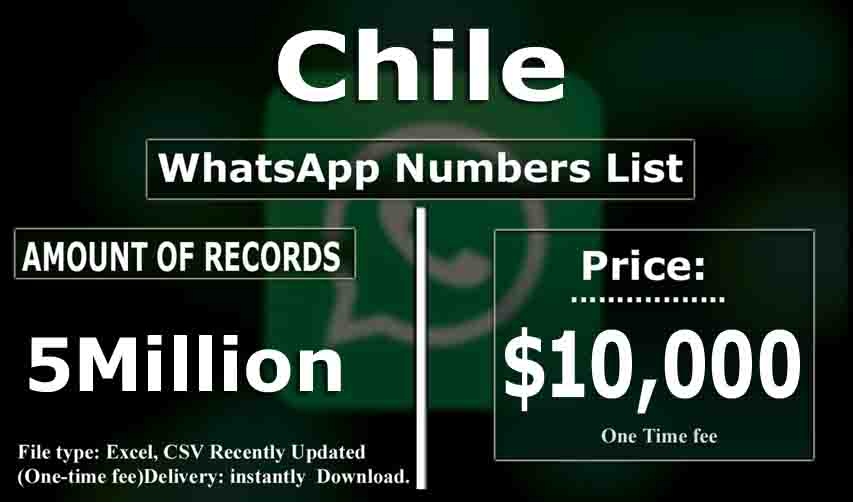 Chile WhatsApp Number List