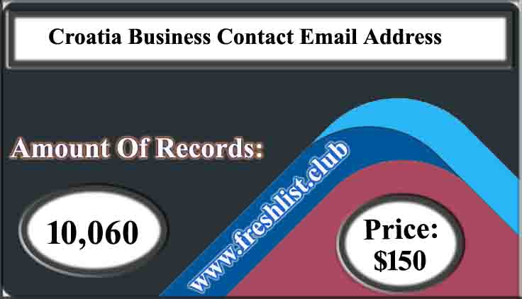 Croatia Business Contact Email Address