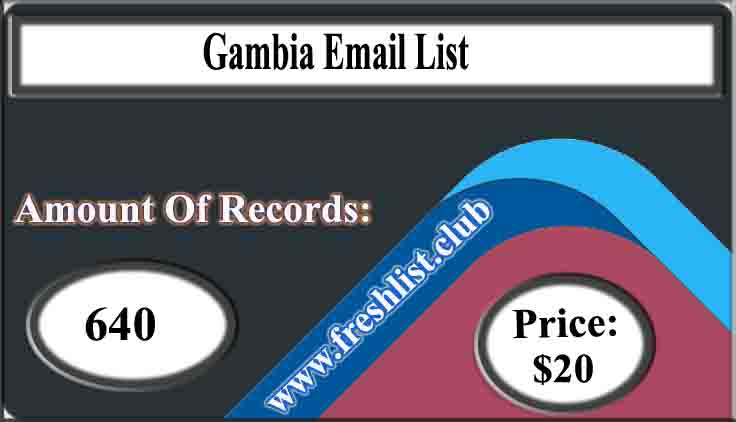 Gambia Email List