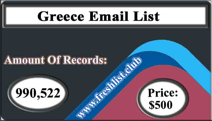 Greece Email List