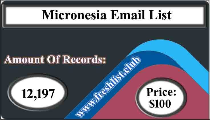 Micronesia Email List
