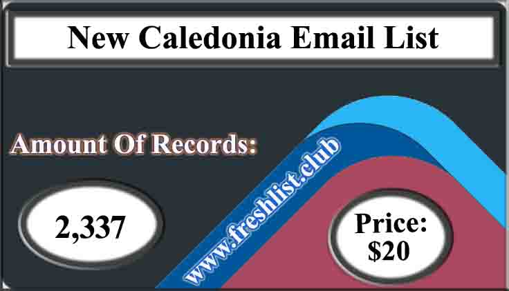 New Caledonia Email List