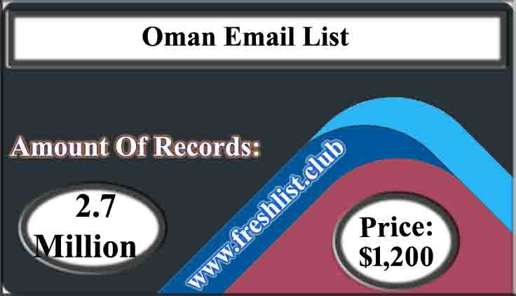 Oman Email List