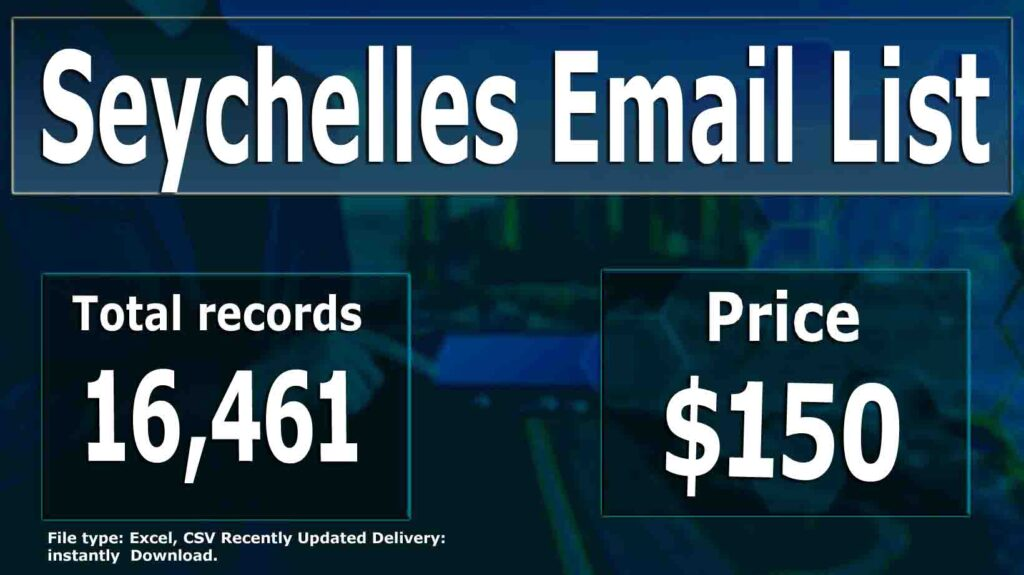 Seychelles Email List